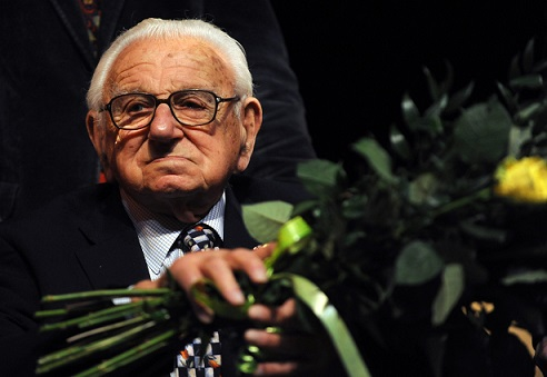 Sir Nicholas Winton, who arranged for th